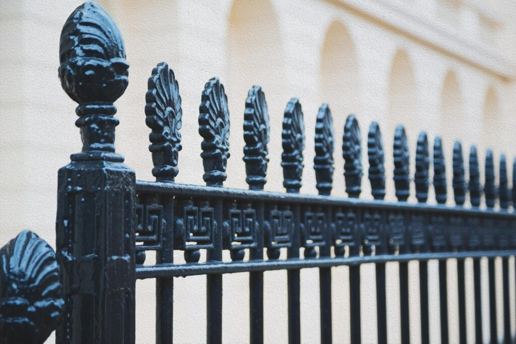 high quality iron fencing services