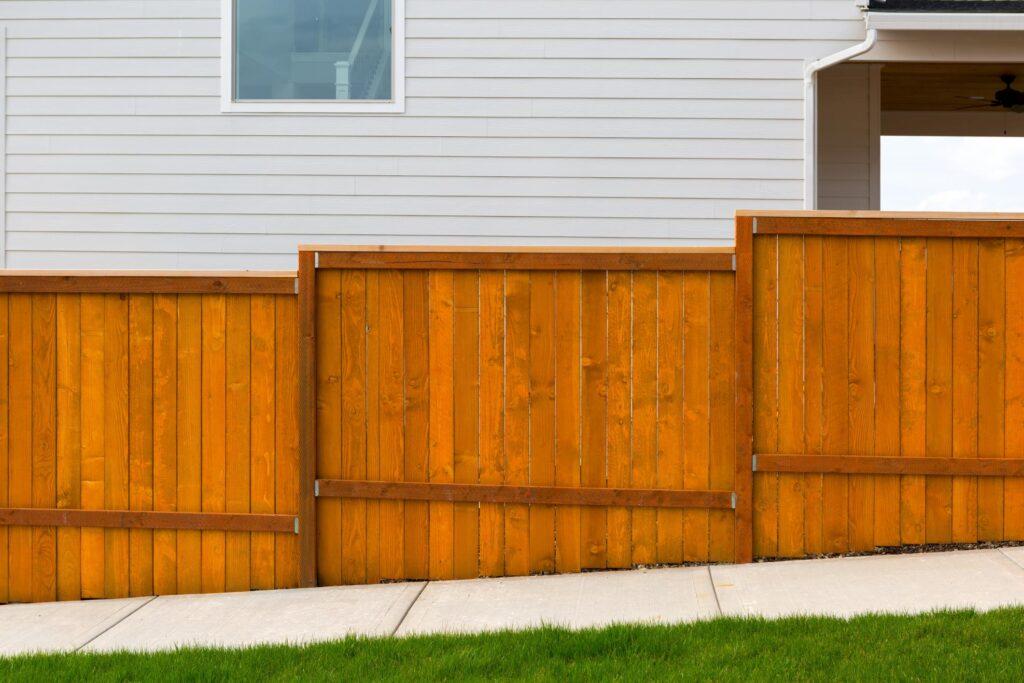wood fence near me